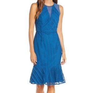 Adelyn Rae Audrey Sheath Midi Dress NWT